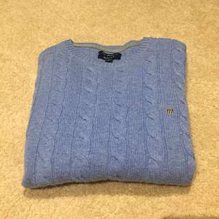 Gant Lambswool Cable Knit