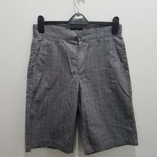 Bossini Grey Printed Shorts - Size 31