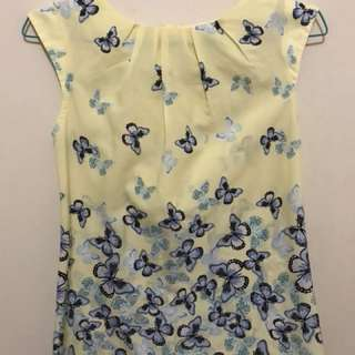 Dorothy Perkins (Billie&Blossom) Yellow Blouse