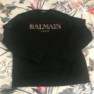 BALMAIN jumper XL BLACK