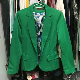 Green Folio Blazer