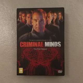 Criminal Minds S1 DVD