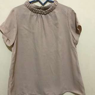 Cotton Ink Light Brown Top