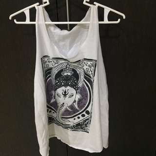 Artwork Ganesha Sleeveless Top