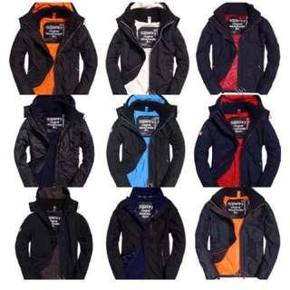 美國官網代購 supersry 防風外套