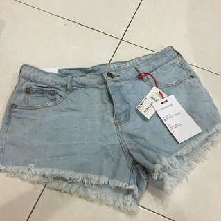Cotton on The Frayed Mid Rise Short