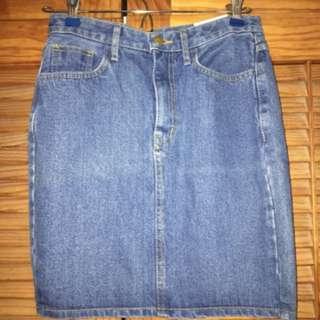 Small Denim Skirt