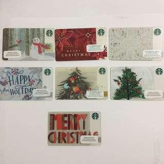 Starbucks Cards | Christmas Edition
