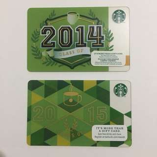 Starbucks Cards | Class of Edition