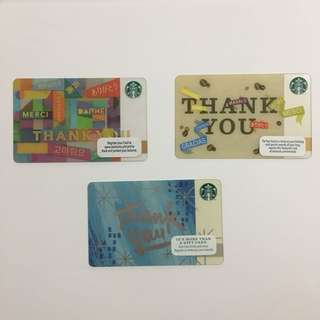Starbucks Cards | Thank you Edition