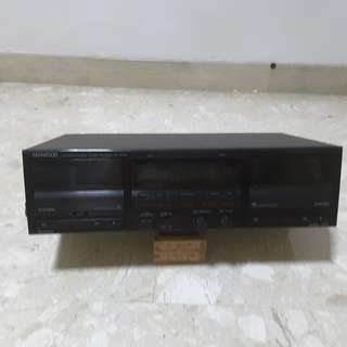 Kenwood  Double Cassette Deck KX-W 791