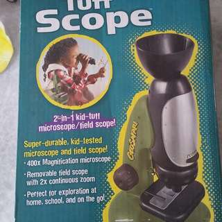 Kids microscope in very good condition
