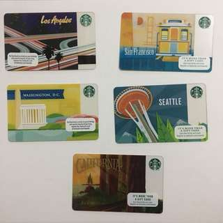 Starbucks Cards | US/CA State Edition
