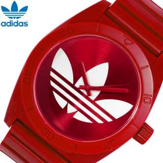 [USED] Adidas Santiago Watch Red