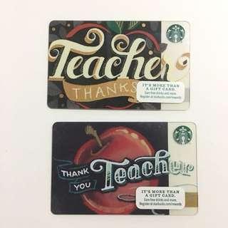 Starbucks Cards | Teacher's edition