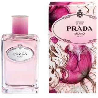 Prada Perfume Rose Iris
