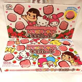 【日本限定】Peko x Sanrio公仔15粒裝朱古力: