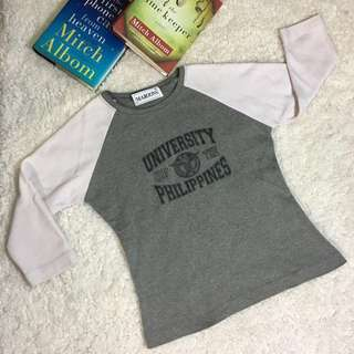 University of the Philippines Seal Ladies Raglan Shirt