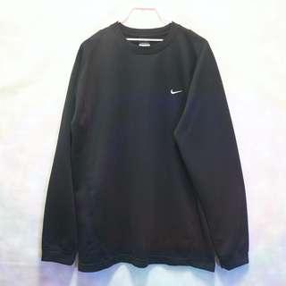 三件7折🎊 Nike 運動長T 長T 薄長T 黑 電繡logo 復古 古著 Vintage
