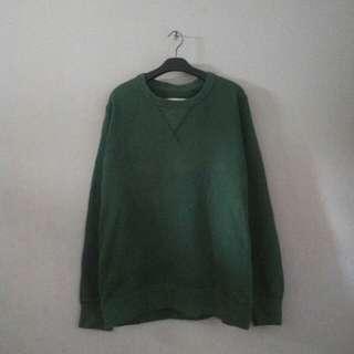 UNIQLO Original Sweater Warna Army Size XL