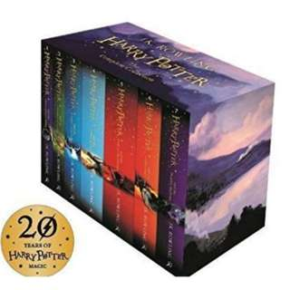 Harry Potter Box Set : The complete collection (Children's paperback)
