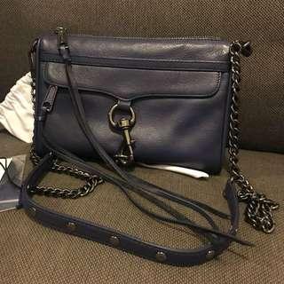 100% Real REBECCA MINKOFF Mini MAC Bag 袋