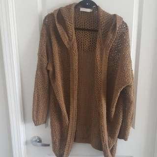 Aritzia Talula crochet knit Cardigan