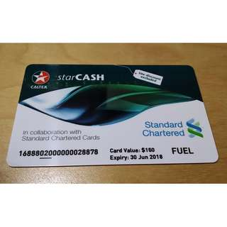 Caltex StarCash Card