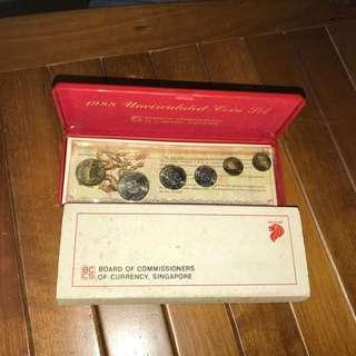 1988 Coin set