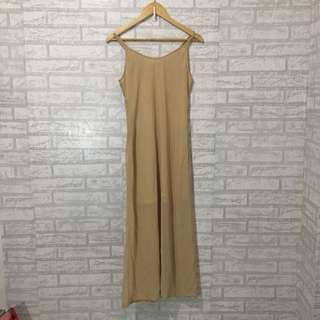 Tan Cami Maci Dress