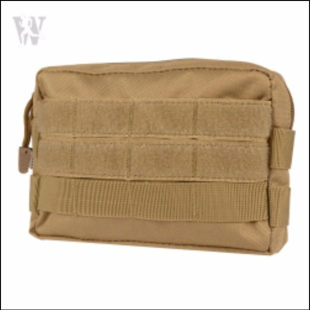 Airsoft Tactical Military Modular MOLLE Small Utility Pouch EDC Bag WaterproofPB