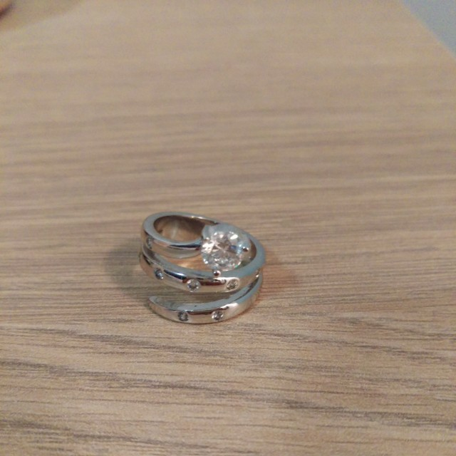 925 sterling silver ring size 6