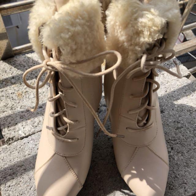 韓國帶回毛靴