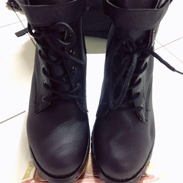 全新 高跟軍靴 性感帥氣 尺寸39 40