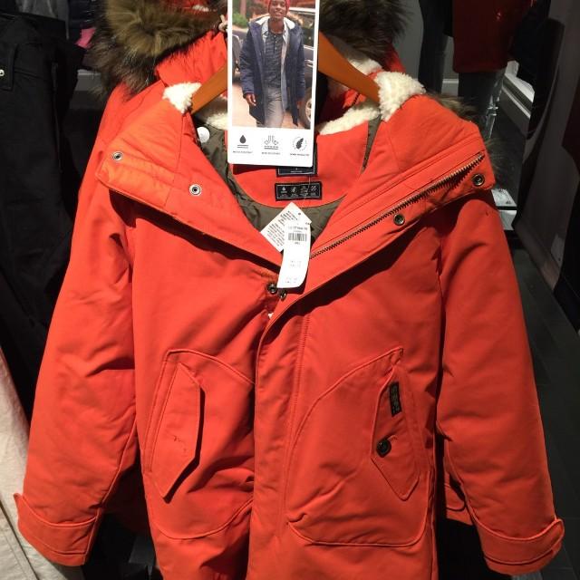 加拿大代購 A&F男性最新款外套
