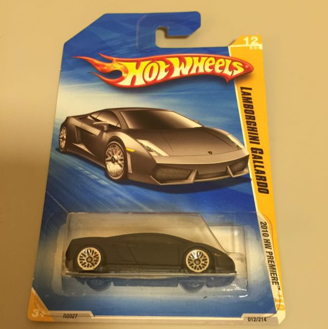 Hotwheels Lamborghini Gallardo 2010 Toys Games Other Toys