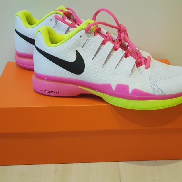 清倉 Nike耐克/ZOOM VAPOR 9.5 TOUR 費德勒款/莎拉波娃款/女款網球運動鞋【現貨免等】