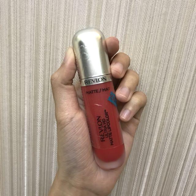 露華濃 Revlon HD超霧感唇釉 625戀艷絲絨紅
