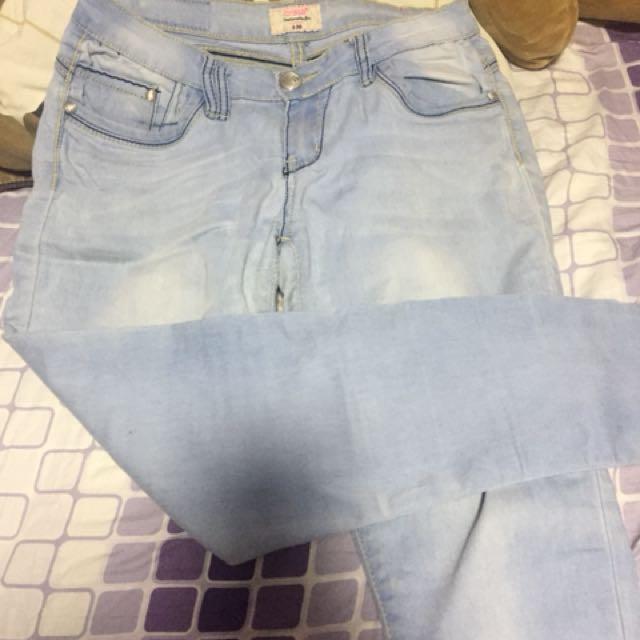 Acid wash crissa jeans