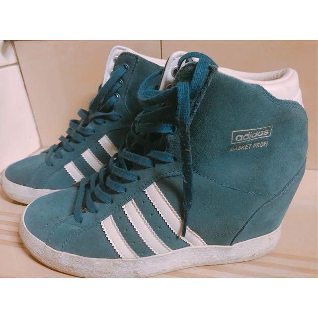 出清-正版adidas內增高休閒鞋