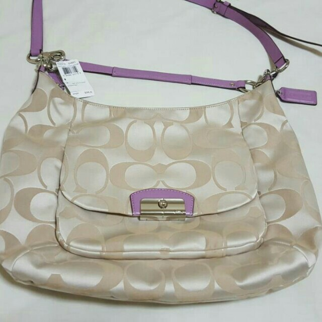Authentic kristin hobo coach 2 way bag