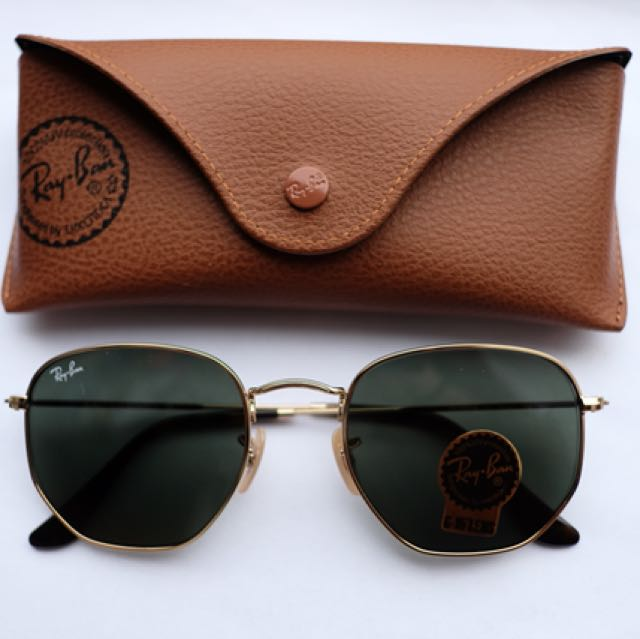 Authentic Ray-Ban Hexagonal Flat Lenses