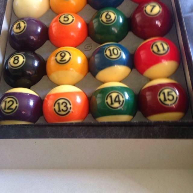Belgian Aramith Tournament Billards