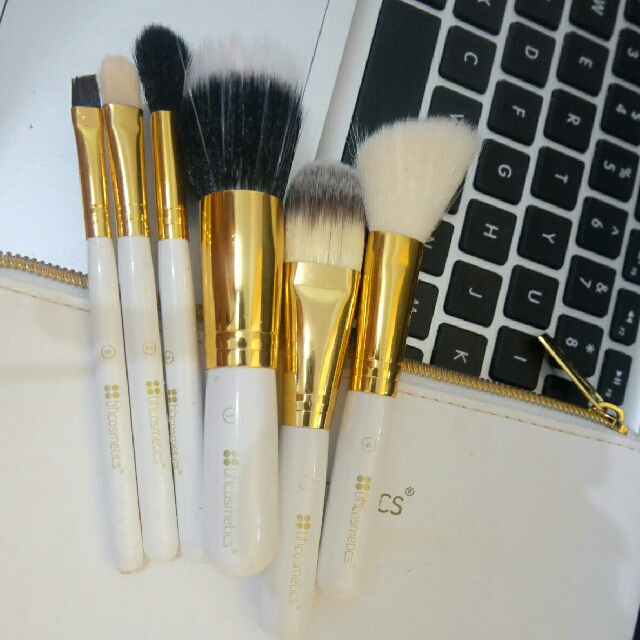 BH Cosmetics White Brush Set