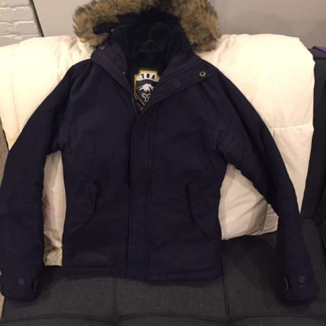 Black TNA coat