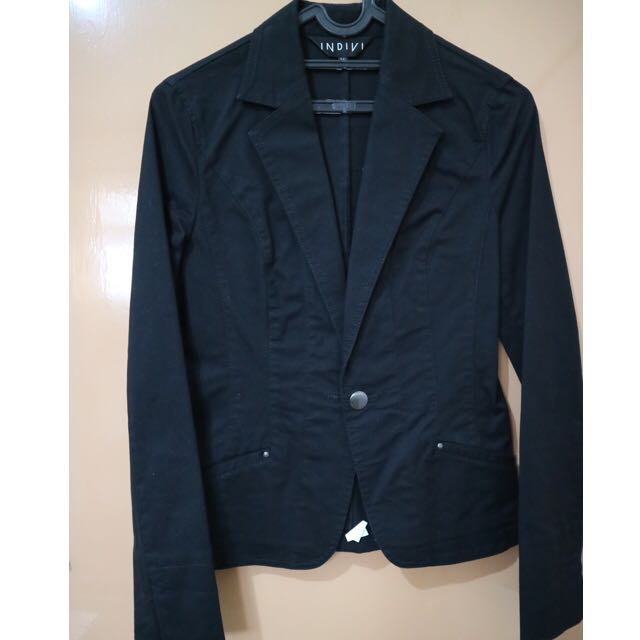 Blazer jacket denim