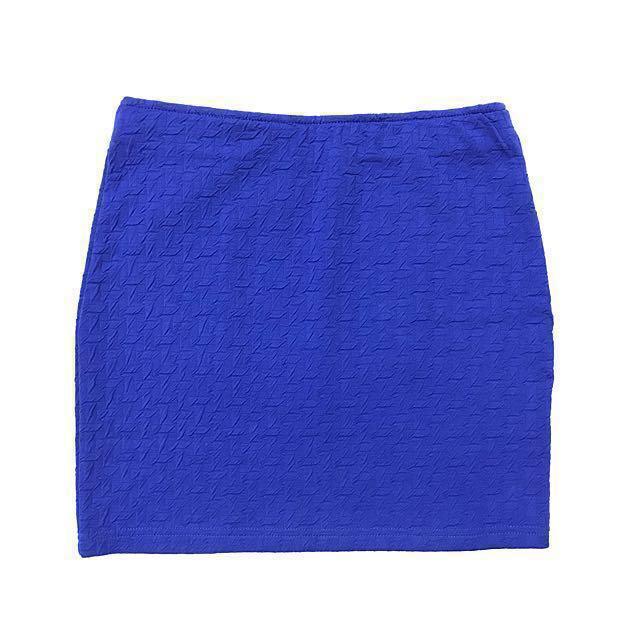 BNWT Nichii Blue Mini Skirt
