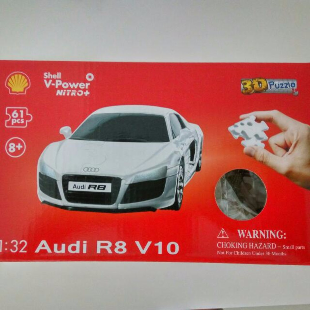 Brand New Shell Audi D Puzzle Toys Games Toys On Carousell - Audi car 3d games