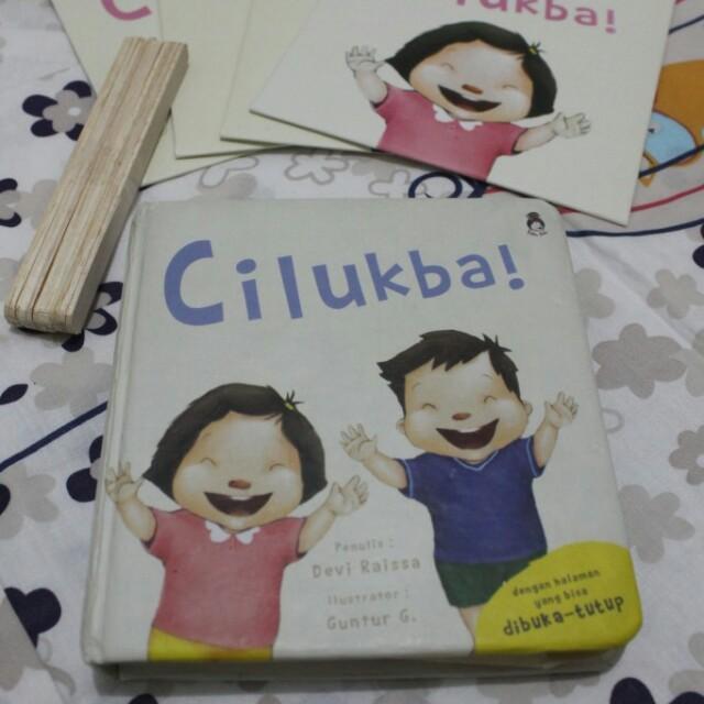 Buku + Wayang Cilukba!