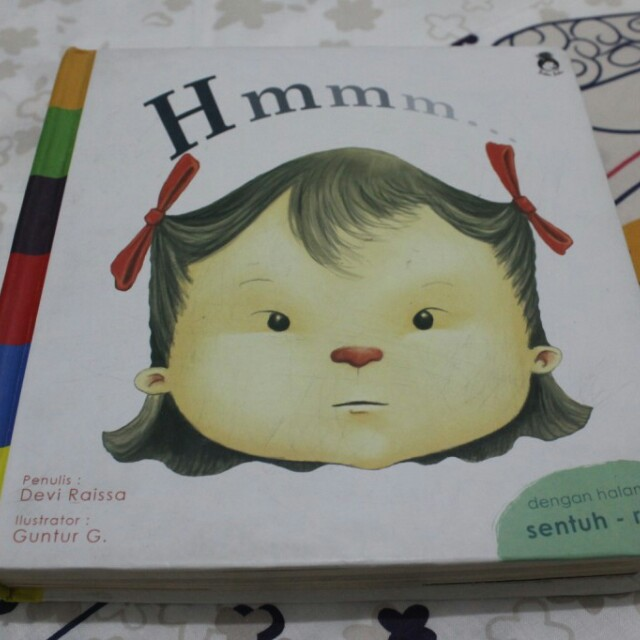 Buku Hmmm... #Emosi (Girl)